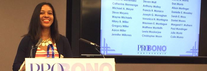 Vanessa Kaye Watson at the Podium-NY-VOTY-2015